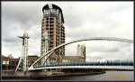 Salford Quays Lift (Millenium) Bridge